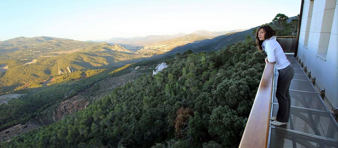 Font Roja Alcoy, vistas