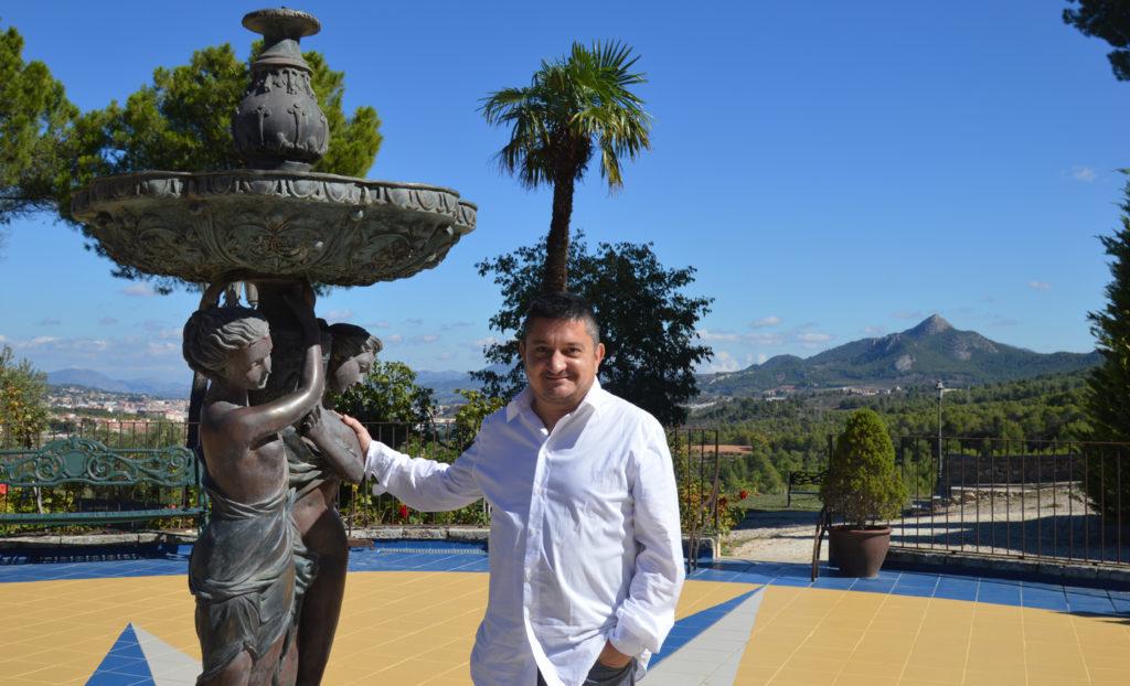 Felip M Andreu chef restaurante masia la mota alcoy alicante