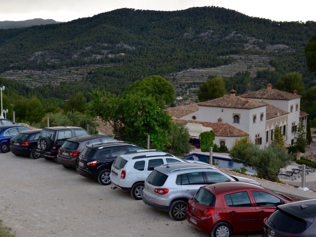 Parking Restaurante Masia La Mota, Alcoy