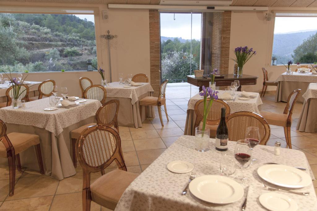 Restaurante Masia La Mota en Alcoy, Alicante, España