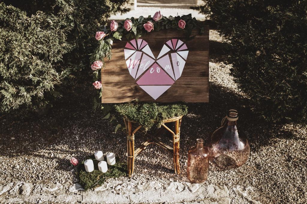 Decoración bodas hotel Masia la Mota