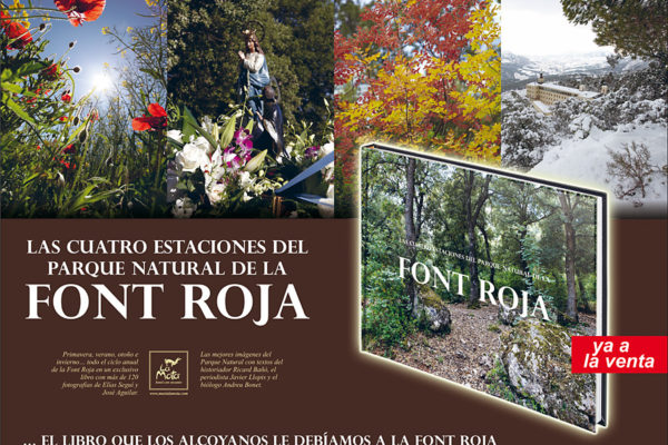 Libro sobre La Font Roja
