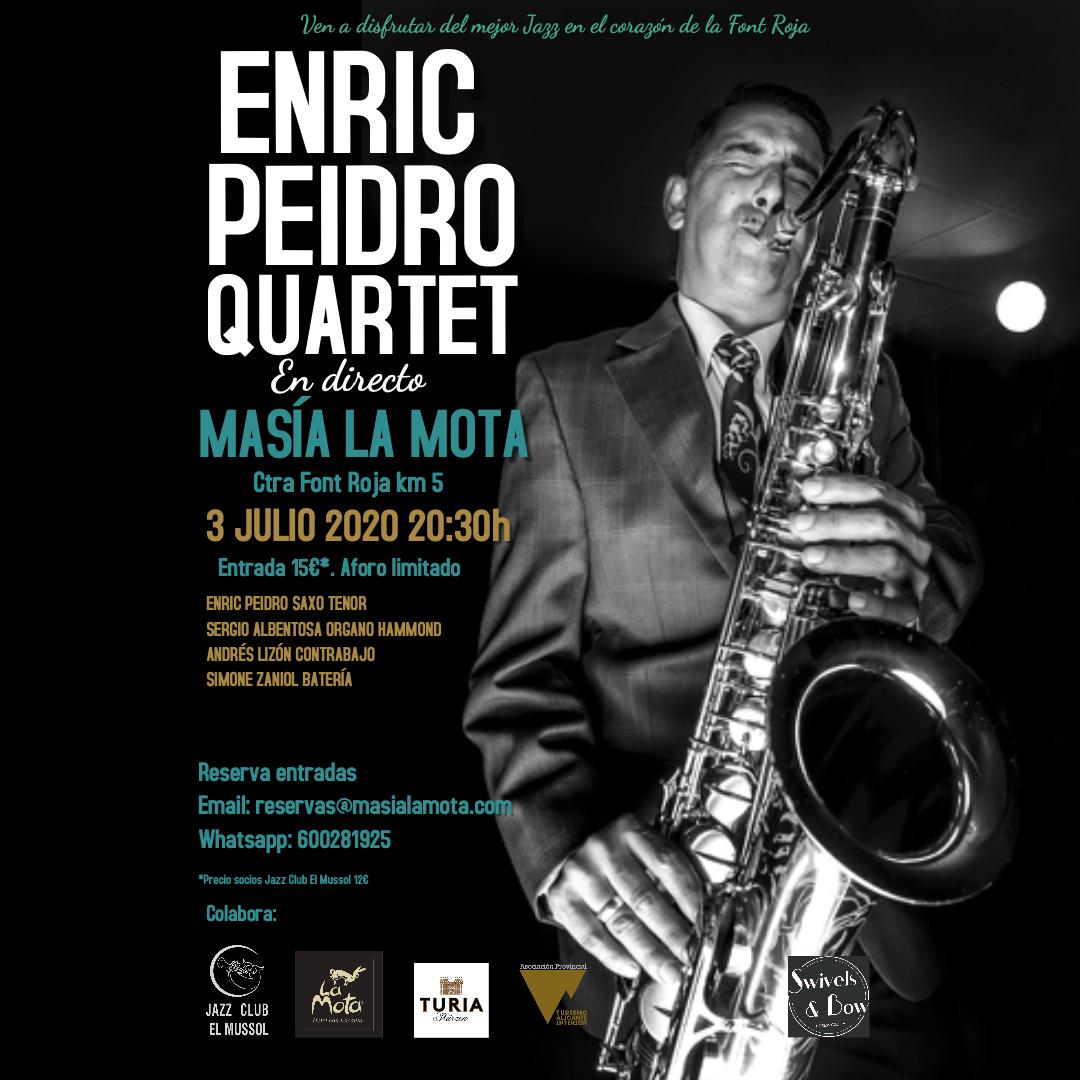 Concierto de Jazz con Enric Peidro Quartet